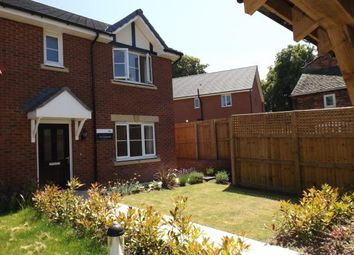 Thumbnail 3 bed semi-detached house for sale in Winterley Gardens, Winterley, Haslington, Cheshire