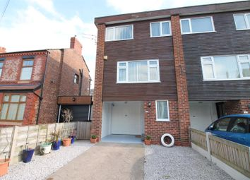 Thumbnail 3 bed town house for sale in Victoria Road, Urmston, Manchester