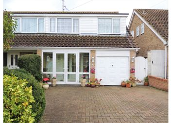 Thumbnail 3 bed semi-detached house for sale in Oak Drive, Rochester