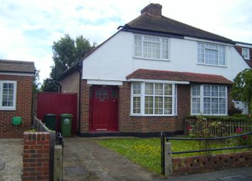 Thumbnail 2 bed semi-detached house to rent in Squires Road, Shepperton
