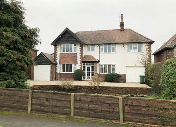 Thumbnail 4 bed detached house to rent in Handforth Road, Wilmslow, Cheshire