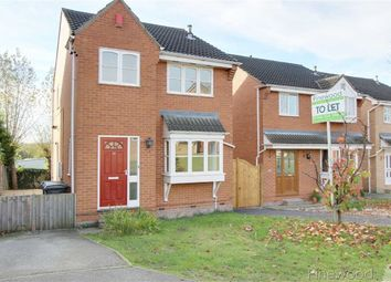 Thumbnail 3 bed detached house to rent in Layton Drive, Old Whittington, Chesterfield, Derbyshire