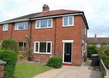 Thumbnail 3 bed semi-detached house to rent in Laburnum Road, Lowton, Warrington