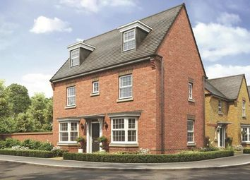 "Thumbnail 4 bed detached house for sale in ""Hertford"" at Sorrel Close, Uttoxeter"