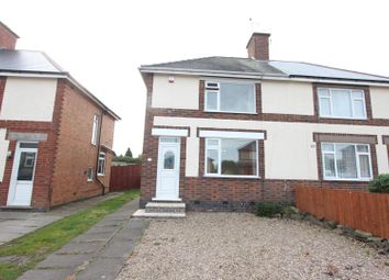Thumbnail 2 bed semi-detached house for sale in Norton Road, Earl Shilton, Leicester