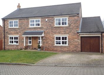 Thumbnail 4 bed detached house to rent in Church Lea, Ainderby Steeple, Northallerton