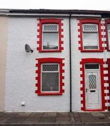 Thumbnail 4 bed terraced house to rent in Bailey Street, Porth