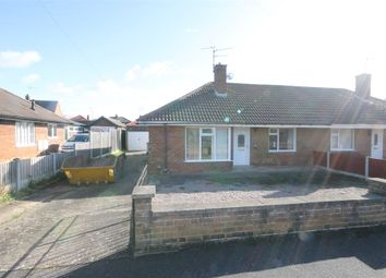 Thumbnail 2 bed semi-detached bungalow for sale in Shelley Close, Balderton, Newark, Nottinghamshire.