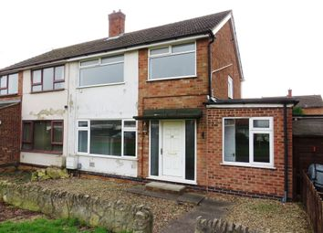 Thumbnail 3 bed semi-detached house for sale in Meadow Walk, Yaxley, Peterborough