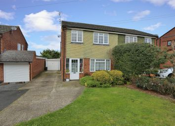 Thumbnail 3 bed semi-detached house for sale in Rashleigh Way, Horton Kirby, Dartford
