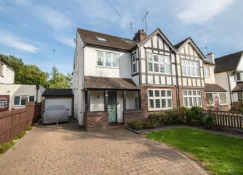 Thumbnail 5 bed semi-detached house for sale in Hillview Road, Pinner, Middlesex