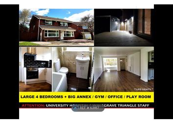 Thumbnail 4 bed detached house to rent in Denshaw Croft, Coventry