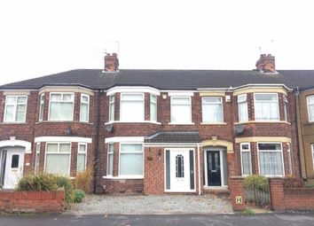 Thumbnail 3 bedroom terraced house for sale in Patterdale Road, Spring Bank West, Hull