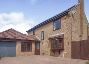 Thumbnail 5 bed detached house for sale in Brashland Drive, East Hunsbury, Northampton