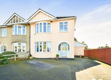 Thumbnail 3 bed semi-detached house for sale in Mile End Road, Newton Abbot