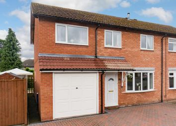 Thumbnail 4 bed semi-detached house for sale in West Edge, Bicton Heath, Shrewsbury