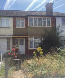 Thumbnail 3 bed terraced house for sale in Charlton Road, Edmonton, London