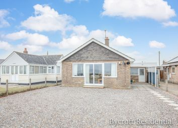 Thumbnail 4 bed detached bungalow for sale in The Promenade, Scratby, Great Yarmouth