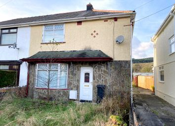 Thumbnail 2 bed semi-detached house for sale in Pen Y Bont Terrace, Crynant, Neath, Neath Port Talbot.