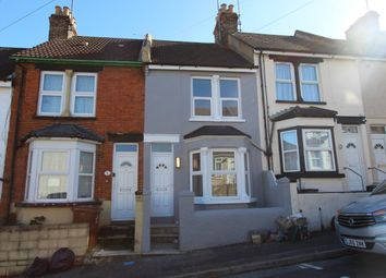 Thumbnail 3 bed terraced house to rent in Corporation Road, Gillingham