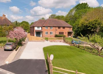 Thumbnail 4 bed semi-detached house for sale in Brampton Bank, Five Oak Green Road, Tudeley, Tonbridge