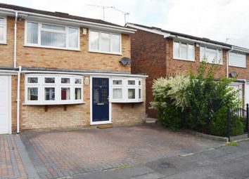 Thumbnail 3 bed semi-detached house for sale in Hoylake Gardens, Harold Wood, Romford