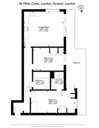 Thumbnail 2 bed flat for sale in Miles Close, Thamesmead West