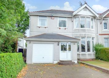Thumbnail 4 bedroom semi-detached house for sale in Colcot Road, Barry, Vale Of Glamorgan