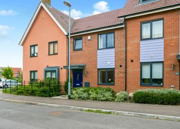 Thumbnail 3 bed terraced house for sale in Oxford Way, Upper Cambourne, Cambridge