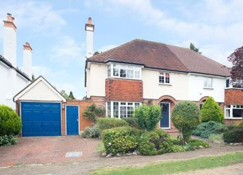 Thumbnail 4 bed semi-detached house for sale in Epsom, Surrey, England