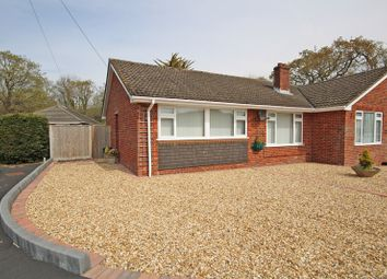 Thumbnail 3 bed semi-detached bungalow for sale in Oak Road, Ashley, New Milton