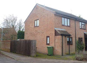 Thumbnail 2 bedroom semi-detached house for sale in Somerville, Werrington, Peterborough