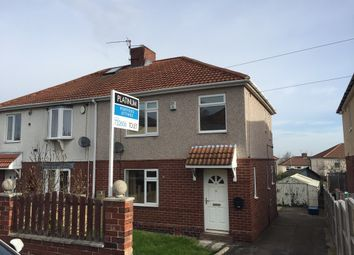 Thumbnail 3 bed semi-detached house to rent in Becknoll Road, Brampton, Barnsley