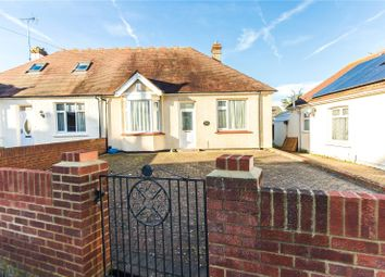 Thumbnail 2 bed semi-detached bungalow for sale in Barnsole Road, Gillingham, Kent