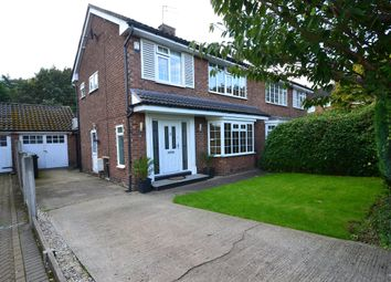 Thumbnail 3 bed semi-detached house for sale in Meadway, Poynton, Cheshire