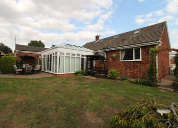Thumbnail 4 bed detached bungalow for sale in The Grove, Lea, Gainsborough