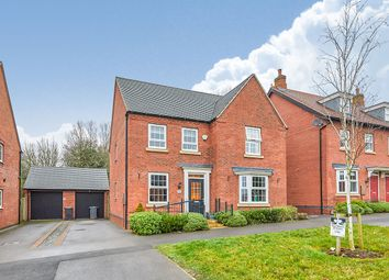 Thumbnail 4 bed detached house for sale in Pickerings Avenue, Measham, Swadlincote, Leicestershire