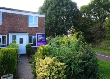 Thumbnail 2 bed end terrace house for sale in Norwood Close, Swindon