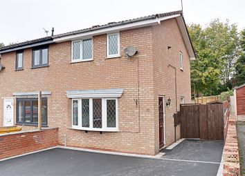 Thumbnail 2 bed semi-detached house to rent in Hopton Meadow, Heath Hayes, Cannock