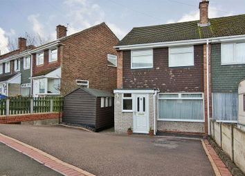 Thumbnail 3 bed semi-detached house for sale in Summer Grove, Lichfield