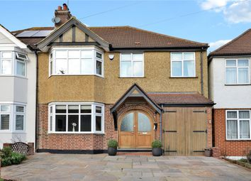 Thumbnail 4 bed semi-detached house for sale in Hilbert Road, Cheam, Sutton