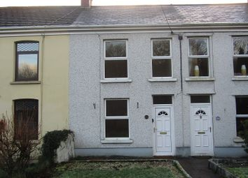 Thumbnail 3 bed terraced house for sale in Heol Twrch, Lower Cwmtwrch, Swansea, City And County Of Swansea.