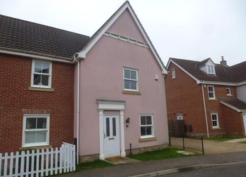 Thumbnail 3 bedroom property to rent in Field Maple Road, Watton, Thetford