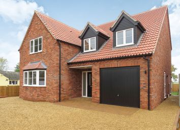 Thumbnail 4 bed detached house for sale in The Drove, Barroway Drove, Downham Market