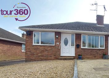 Thumbnail 3 bed semi-detached bungalow for sale in Cissbury Ring, Peterborough