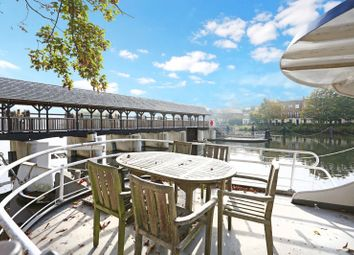 Thumbnail 3 bedroom houseboat for sale in Ash Island, East Molesey