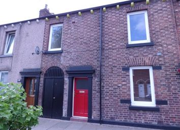 Thumbnail 3 bed terraced house for sale in Milbourne Street, Carlisle, Cumbria