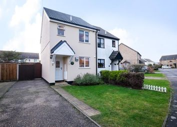 Thumbnail 2 bed semi-detached house for sale in Lowestoft, Suffolk
