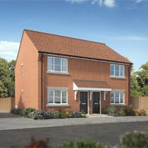 Thumbnail 2 bed semi-detached house for sale in Braeburn Close, King's Lynn