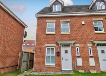 Thumbnail 3 bed town house for sale in Town Lands Close, Wombwell, Barnsley